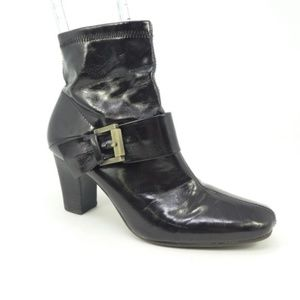 Etienne Aigner Vegan Leather Ankle Boots (87)